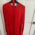 Selling: Red dress with belt