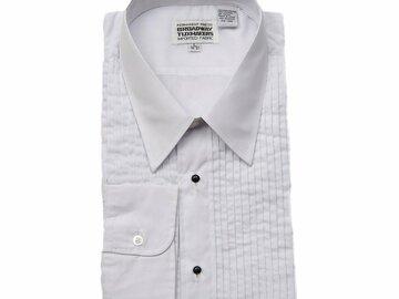 Buy Now: 100 Men's Tuxedo & Formal Shirts MSRP $1,899