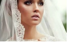 Buy Now: Mixed LOT 45 Wedding Veil Cathedral Fingertip Eyelash 2T Layer
