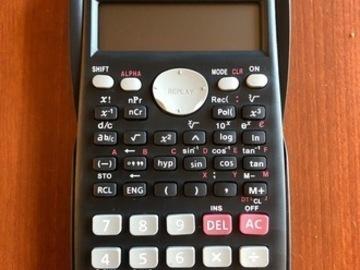 Selling: scientific calculator new