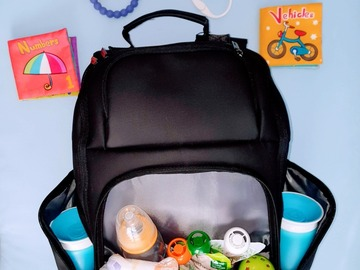 Selling with online payment: Kobe Expandable Diaper Bag