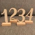 Ilmoitus: Puiset pöytänumerot 1-12