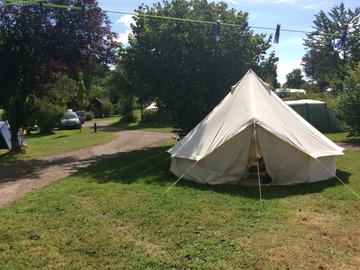 Renting out with online payment: 4m Bell Tent