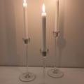 Ilmoitus: Myydään Ikean Blomster-kynttilänjalkoja 13 pkt x 3 kpl