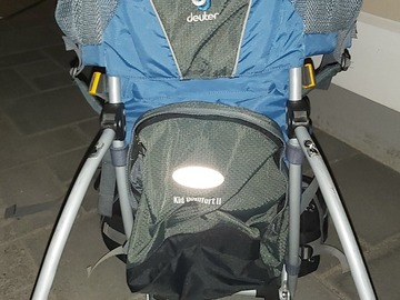 Renting out (per night): Lapsen kantorinkka Deuter Kid Comfort 2