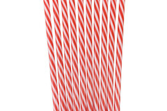 Buy Now: Reusable Plastic Replacement Straws – Striped Green, Red and Blue
