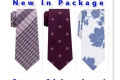 Buy Now: Ties: CK, DKNY, Michael Kors, Penguin & More, All New,$3,600 MSRP