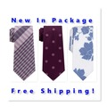 Buy Now: (66) Ties CK, DKNY, Michael Kors, Penguin & More- New $3,600 MSRP