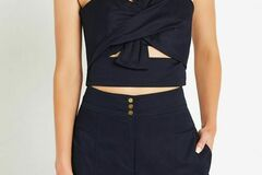 "For Sale: SASS and BIDE: The Longing Set in Navy Bustier 36"" Pants 38"