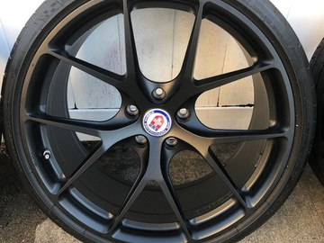 Selling: HRE P101 Satin Black 20""