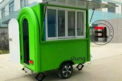Make An Offer:  Details about  Mobile Food Cart Trailer - CE Certified, Customiz
