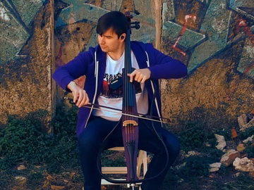 Offering with online payment: Professionnal Cello Recording Service