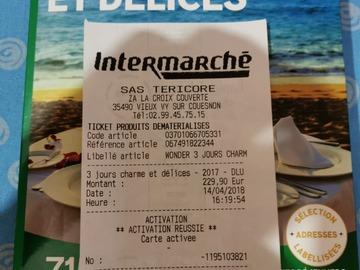 """Vente: Wonderbox """"3 jours charme et délices"""" (229,90€)"""