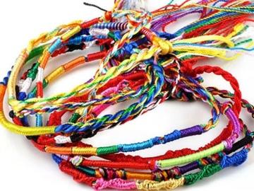 Buy Now: 1000Pcs Wholesale Jewelry Lot Braid Strands Friendship Cords