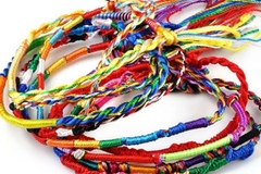 Buy Now: 1000Pcs Wholesale Jewelry Lot Braid Strands Friendship Cords