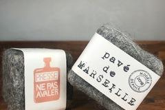 Vente: Pavé de Savon de Marseille Gommant Merlaine