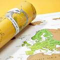 Vente: Carte du monde à gratter Scratch Map
