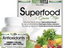 Selling Products: Nutrivitta 1 Month Treatment (Superfood Pack + Capsules)