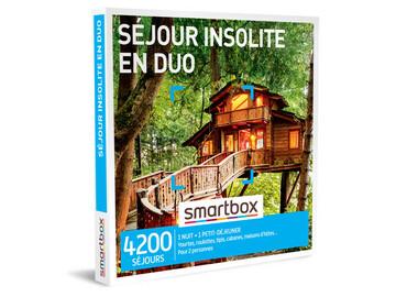 """Vente: Coffret cadeau """"Week-end insolite en duo"""" (69,90€)"""