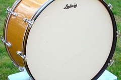 Selling with online payment: 1965 LUDWIG 14x28 Keystone badge Gold sparkle bass drum