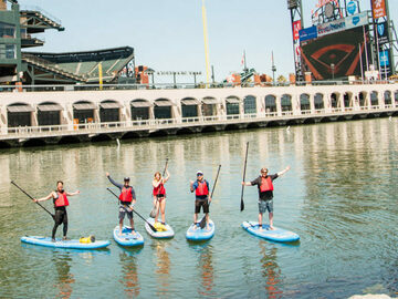 per person: Stand up Paddle Boarding (SUP) Tours in San Francisco