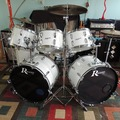 Selling with online payment: Rogers Double Bass Drum Set