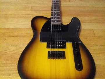 Renting out: Squier Telecaster Contemporary guitar for rent.
