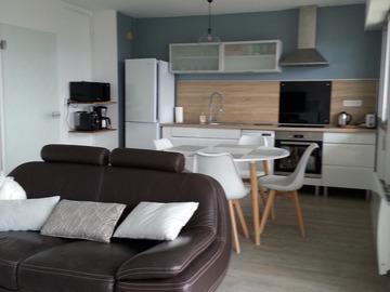 Location par mois: Appartement F2 - Cherbourg (57m²)