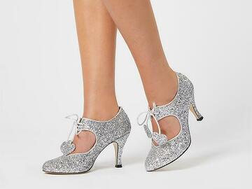 Ostetaan: Minna Parikka Raquel silver glitter