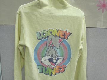 Buy Now: Junk Food Looney Tunes Yellow Hoodie Sweater for Teenage Girls- S