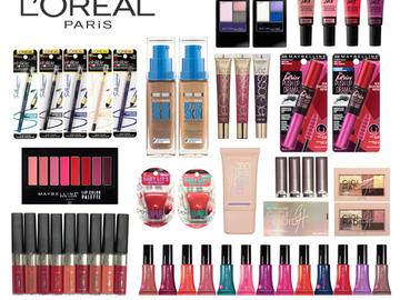Buy Now: (100) Wholesale Closeout Liquidation Makeup Cosmetics Mixed Lot L