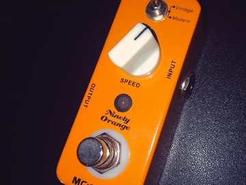 Renting out: Mooer Ninety Orange Analog Phaser Guitar Effect Pedal