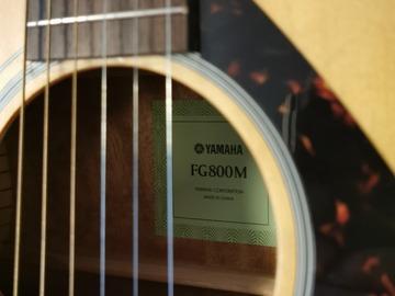 Myydään: Yamaha FG800M Acoustic Guitar