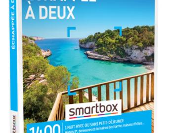 """Vente: Smartbox """"Echappée à deux"""" (49,90€)"""
