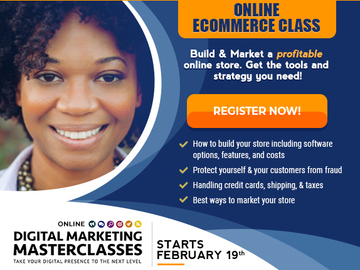 Workshop: eCommerce Build an Online Store - Online Digital Marketing Master
