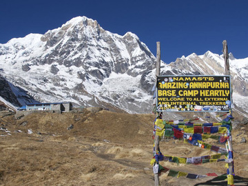 Offering with online payment: Annapurna Base Camp Trekking