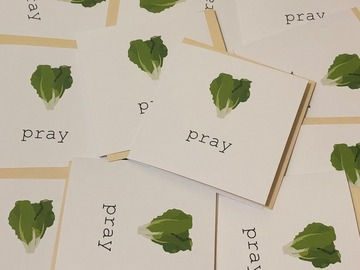 : Lettuce pray