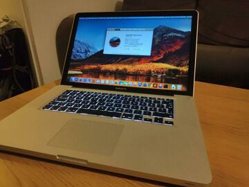 Selling: Macbook pro 15 inch late 2011 i7 8gb ram 6750m ssd