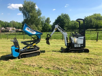 Daily Equipment Rental: 0.8t micro digger