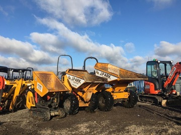 Daily Equipment Rental: dumper hire