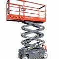 Weekly Equipment Rental: 7.9m Scissor lift hire