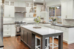 Offering with online payment: House Kitchen Cabinet Painting Refinishing Bay Area - San Mateo