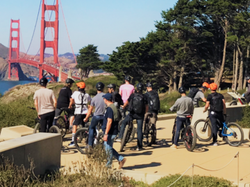 per person: SF Beach Electric Bike Team Building Adventure