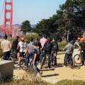 per person: SF Beach Electric Bike Team Building Adventure
