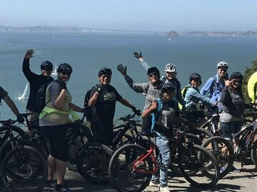 per person: Angel Island Team Building Eco Bike Adventure