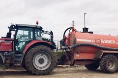 Daily Equipment Rental: Slurry tanker/Dust suppression