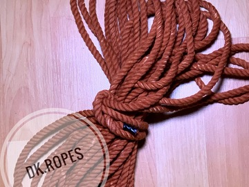 Selling with online payment: CARAMEL hand dyed cotton rope | 50ft