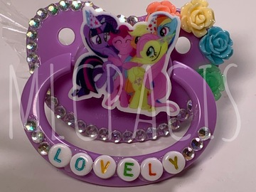 Selling with online payment: Pony Friends Adult Pacifier