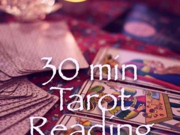Selling: 30 Min. Tarot Reading.