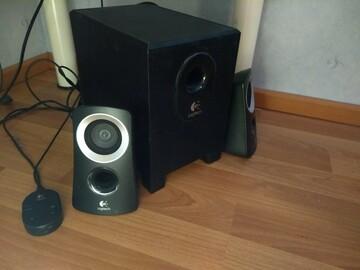 Myydään:  Logitech Sound System